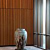 Træbrændt stentøjskrukke Ø71 x H115 cm