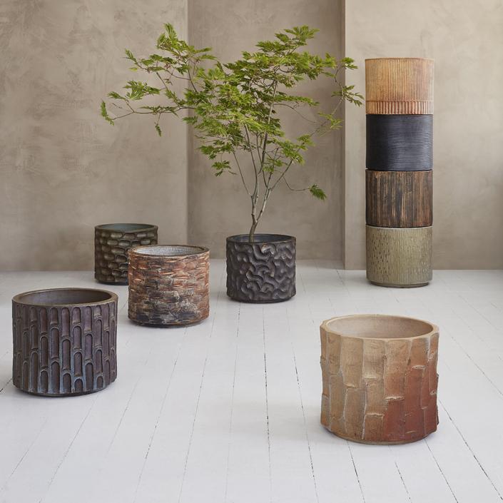 Earth Cylinder Plantekrukker