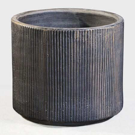 Havekrukke (frostsikker) - 46 cm - Oak Design - Sort
